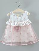 זול אוברולים טריים לתינוקות לבנים-שמלה כותנה מקסי ללא שרוולים גב חשוף / טלאים טלאים פעיל / בסיסי בנים תִינוֹק / פעוטות