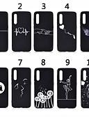 povoljno Maske za mobitele-Θήκη Za Xiaomi Xiaomi Redmi Note 6 / Xiaomi Pocophone F1 / Xiaomi Redmi Note 7 Mutno / Uzorak Stražnja maska Rukav leptir / Srce Mekano TPU