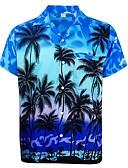 hesapli Erkek Gömlekleri-Erkek Gömlek Grafik AB / ABD Beden Havuz L