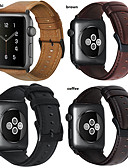 hesapli Smartwatch Bantları-Watch Band için Apple Watch Series 4/3/2/1 Apple Modern Toka Gerçek Deri Bilek Askısı