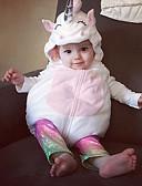 זול סטים של ביגוד לתינוקות-חליפת גוף כותנה ללא שרוולים טלאים פעיל בנות תִינוֹק