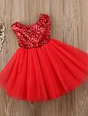 זול אוברולים טריים לתינוקות-שמלה כותנה ללא שרוולים אחיד פעיל / בסיסי בנות תִינוֹק / פעוטות