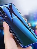 זול מגנים לטלפון-מגן עבור Samsung Galaxy Galaxy A10 (2019) / Galaxy A30 (2019) / Galaxy A50 (2019) שקוף כיסוי אחורי אחיד רך TPU