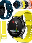 זול להקות Smartwatch-צפו בנד ל פורנונר 245M / פוררוס 645 Garmin רצועת ספורט מתכת / סיליקוןריצה רצועת יד לספורט