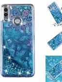 זול מגנים לטלפון-מגן עבור Huawei Huawei P20 / Huawei P20 Pro / Huawei P20 lite נוזל זורם / שקוף / תבנית כיסוי אחורי פרפר רך TPU