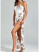 tanie Suknie balowe-Krój A Zaokrąglony Do kostki Bawełna Studniówka Sukienka z przez LAN TING Express