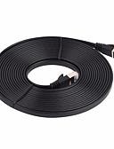 זול מטען כבלים ומתאמים-כבל רשת 7 כבל רשת כבל שטוח כבל תיקון 5m