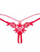 זול תחתוני נשים-בגדי ריקוד נשים בסיסי חוטיני פוליאסטר מותן בינוני