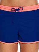 זול תכשיטים אופנתיים-בגדי ריקוד נשים מכנסי שורט בגדי ים מכנסי שחייה אלסטיין תחתיות נושם שחייה ספורט מים טלאים קיץ