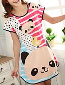 Χαμηλού Κόστους T-shirt-Στρογγυλή Λαιμόκοψη Σετ Εσώρουχα Πυτζάμες Γυναικεία Συνδυασμός Χρωμάτων