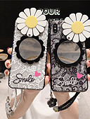 זול מגנים לאייפון-מארז iPhone xr / iPhone xs מקס תבנית / המראה האחורי לכסות פרח tpu קשה עבור x x x 8 x 8 8 7 7plus 6 6plus 6s 6s פלוס