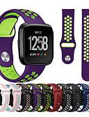 זול להקות Smartwatch-צפו בנד ל Fitbit Versa / Fitbit Versa לייט פיטביט רצועת ספורט סיליקוןריצה רצועת יד לספורט