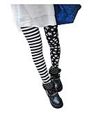 hesapli Taytlar-Kadın's Günlük Podstawowy Legging - Desen, Desen Yüksek Bel Siyah Tek Boyut / İnce