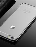 זול מגנים לאייפון-מגן עבור Apple iPhone XS / iPhone XR / iPhone XS Max ציפוי / שקוף כיסוי אחורי אחיד רך TPU