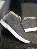 hesapli Erkek Ceketleri ve Kabanları-Erkek Ayakkabı PU İlkbahar yaz / Sonbahar Kış Günlük / İngiliz Spor Ayakkabısı Günlük / Dış mekan için Siyah / Gri / Haki