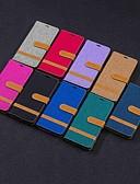 זול מגנים לטלפון-מגן עבור נוקיה Nokia 5.1 / 4.2 / Nokia 3.1 ארנק / מחזיק כרטיסים / עם מעמד כיסוי מלא אריח קשיח טֶקסטִיל