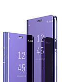 זול מגנים לטלפון-מגן עבור Huawei Huawei P30 / Huawei P30 Pro / Huawei Mate 20 pro מראה / נפתח-נסגר כיסוי מלא אחיד קשיח PC