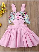 זול שמלות לבנות-שמלה ללא שרוולים פרחוני בנות תִינוֹק