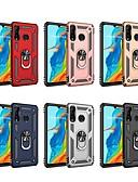 זול מגנים לטלפון-מגן עבור Huawei Huawei P20 lite / Huawei P30 / Huawei P30 Pro עמיד בזעזועים / עם מעמד כיסוי אחורי שִׁריוֹן קשיח PC