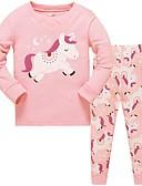 זול הלבשה תחתונה וגרביים לבנות-לבוש שינה מנוקד בנות ילדים