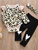 זול שמלות לתינוקות-סט של בגדים שרוול ארוך דפוס בנות תִינוֹק