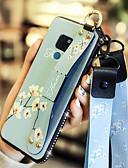 זול מגנים לטלפון-מארז להואוויי 10 / huawei mate 20 עם מעמד / עמיד לכיסוי גב עטיפה פרח רך פו עבור huawei y7 הממשלה (ליהנות 7 פלוס) / huawei y9 (2018) (ליהנות 8 פלוס) / huawei חבר 20 פרו