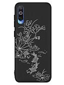 זול מגנים לטלפון-מגן עבור Samsung Galaxy Galaxy A10 (2019) / Galaxy A30 (2019) / Galaxy A50 (2019) עמיד בזעזועים / תבנית כיסוי אחורי פרח רך TPU
