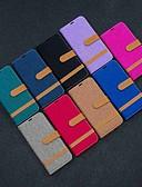 Недорогие Чехлы для телефонов-Кейс для Назначение Huawei Huawei nova 4e / Honor 10 Lite / Честь 10i Кошелек / Бумажник для карт / со стендом Чехол Плитка Твердый текстильный
