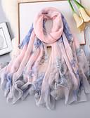 hesapli Günlük Elbiseler-Kolsuz Şifon Düğün / Parti / Gece Kadın Eşarpları İle Boyama Atkılar / Kaşkollar