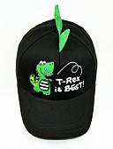זול ילדים כובעים ומצחיות-מידה אחת שחור / אודם / צהוב כובעים ומצחיות כותנה מסוגנן אחיד / חיה / אנימציה וינטאג' / פעיל / בסיסי בנים / בנות פעוטות