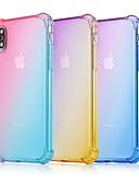 זול מגנים לאייפון-מגן עבור Apple iPhone XS / iPhone XR / iPhone XS Max עמיד בזעזועים כיסוי אחורי צבע הדרגתי רך TPU