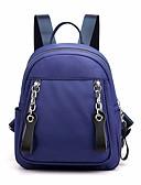 hesapli Tişört-Su Geçirmez Naylon Düğme sırt çantası Tek Renk Dış mekan Siyah / YAKUT / Mor / Sonbahar Kış