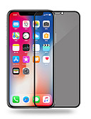 זול מגני מסך ל-iPhone-AppleScreen ProtectoriPhone XS פרטיות נגד ריגול מגן מסך קדמי יחידה 1 זכוכית מחוסמת