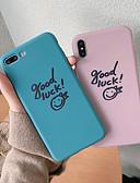 hesapli iPhone Kılıfları-Pouzdro Uyumluluk Apple iPhone XS / iPhone XR / iPhone XS Max Ultra İnce / Temalı Arka Kapak Karton TPU