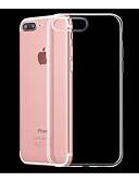 זול מגנים לאייפון-מגן עבור Apple iPhone X / iPhone 8 Plus / iPhone 8 עמיד בזעזועים / עמיד לאבק כיסוי אחורי שקוף רך TPU / ג'ל סיליקה