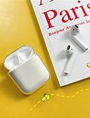 hesapli AirPods Kılıfları-Pouzdro Uyumluluk AirPods Şoka Dayanıklı Kulaklık kılıfı Sert