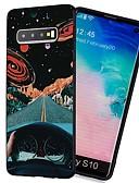 זול מגנים לטלפון-מגן עבור Samsung Galaxy S9 / S9 Plus / S8 Plus עמיד בזעזועים / מזוגג / תבנית כיסוי אחורי שמיים TPU