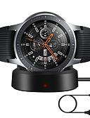 זול להקות Smartwatch-Smartwatch Charger / עמדה עם הטענה / מטען אלחוטי מטען USB USB עם כבל 5 A DC 5V ל Gear Sport / Gear S3 Frontier / Gear S3 Classic