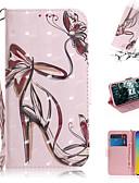 hesapli Cep Telefonu Kılıfları-Pouzdro Uyumluluk Samsung Galaxy S7 edge / S7 / Galaxy S10 Cüzdan / Kart Tutucu / Satandlı Tam Kaplama Kılıf Seksi Kadın PU Deri
