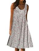 זול שמלות מיני-מעל הברך טלאים דפוס, פרחוני - שמלה סווינג בסיסי בגדי ריקוד נשים