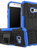 זול מגנים לטלפון-מגן עבור Samsung Galaxy J7 (2017) / J7 / J5 (2017) עמיד בזעזועים / עמיד לאבק כיסוי אחורי קווים / גלים קשיח פלסטיק / PC