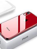 זול מטען כבלים ומתאמים-שקוף במיוחד במקרה טלפון שקוף עבור iPhone xs xx x x x x 8 בתוספת 8 7 פלוס 7 6 פלוס 6 ציפוי רך tpu סיליקון כיסוי מלא shockproof