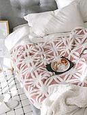 povoljno Majica-Posteljina deke, Prugasti uzorak / Plaid / Check / Klasika Pletivo / Wool Fabric Grijač Udoban Jako mekano pokrivači