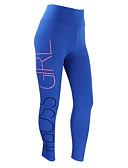 hesapli Taytlar-Kadın's Spor Legging - Geometrik, Desen Orta Bel Havuz S M XL / İnce