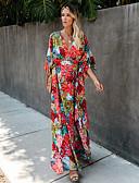 זול שמלות מקרית-מידי אחיד - שמלה נדן בגדי ריקוד נשים