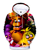 billige Sett med gutteklær-Barn Baby Gutt Grunnleggende Trykt mønster Trykt mønster Langermet Hettegenser og sweatshirt Regnbue