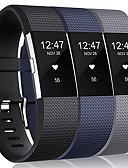 זול להקות Smartwatch-3 יחידות להקת שעון גדולה לטעינת fitbit 2 רצועת שורש כף יד סיליקון להקת fitbit
