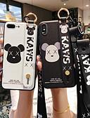 hesapli iPhone Kılıfları-Pouzdro Uyumluluk Apple iPhone XS / iPhone XR / iPhone XS Max Toz Geçirmez / Satandlı / Temalı Arka Kapak Kelime / Cümle / Karton TPU