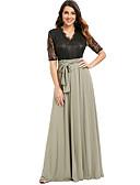 povoljno Maxi haljine-Žene Swing kroj Haljina Jednobojni Color block Midi