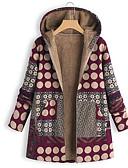 זול גרביים וגרביונים-M / L / XL שחור / יין פוליאסטר, מעיל פרקה רגיל רגיל קשירה וצביעה בגדי ריקוד נשים